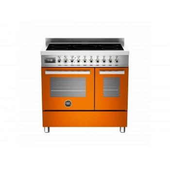 PRO905INDMFEDART 90 cm piano a induzione forno elettrico doppio Serie Professional