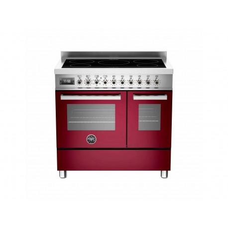 PRO905INDMFEDVIT 90 cm piano a induzione forno elettrico doppio Serie Professional