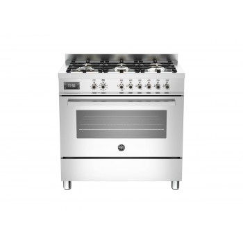 PRO906MFESXT 90 cm 6 bruciatori forno elettrico Serie Professional