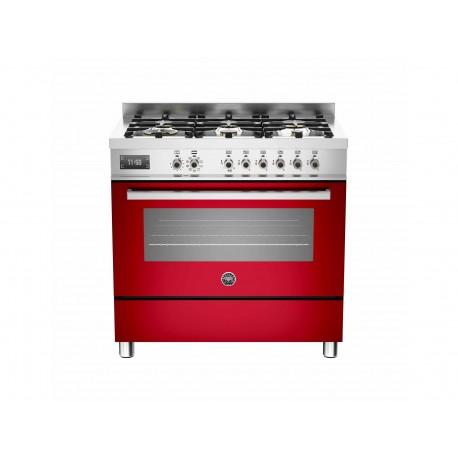 PRO906MFESROT 90 cm 6 bruciatori forno elettrico Serie Professional