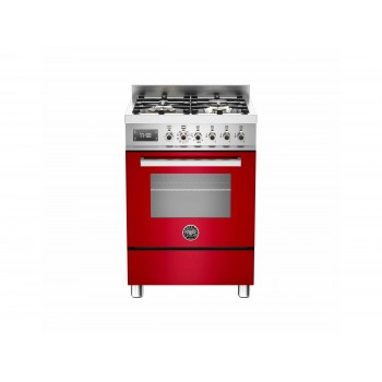 PRO604MFESROT 60 cm 4 bruciatori forno elettrico Serie Professional