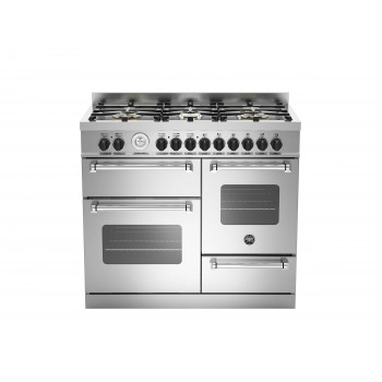MAS1006MFETXT 100 cm 6 bruciatori forno elettrico triplo Serie Master