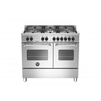 MAS1006MFEDXT 100 cm 6 bruciatori forno elettrico doppio Serie Master