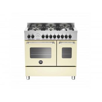 MAS906MFEDCRT 90 cm 6 bruciatori forno elettrico doppio Serie Master