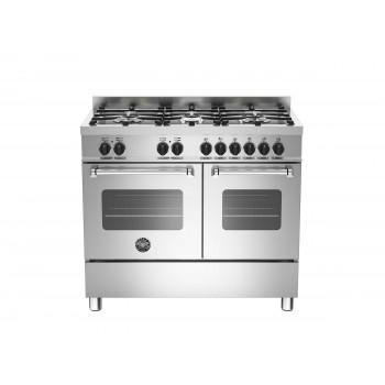 MAS1006MFEDXE 100 cm 6 bruciatori forno elettrico doppio Serie Master