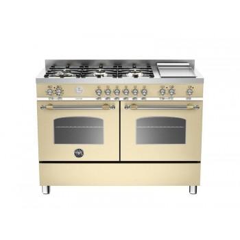HER1206GMFEDCRT 120 cm 6 bruciatori piastra doppio forno elettrico Serie Heritage