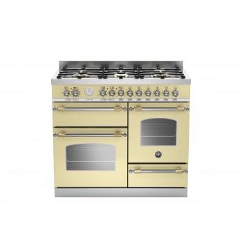 HER1006MFETCRT 100 cm 6 bruciatori forno elettrico triplo Serie Heritage