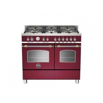 HER1006MFEDVIT 100 cm 6 bruciatori forno elettrico doppio Serie Heritage