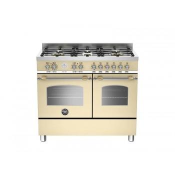 HER1006MFEDCRT 100 cm 6 bruciatori forno elettrico doppio Serie Heritage