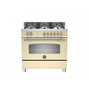 HER906MFESCRT 90 cm 5 bruciatori forno elettrico Serie Heritage