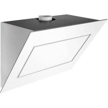 Falmec QUASAR Design Cappa parete cm 120  vetro bianco  motore 800 m3h