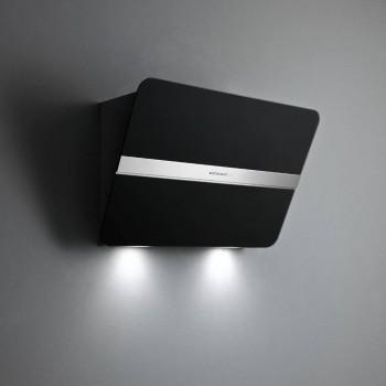 Falmec FLIPPER Design Cappa parete cm 55  vetro nero  motore 800 m3h