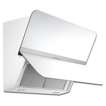 Falmec FLIPPER Design Cappa parete cm 85  vetro bianco  motore 800 m3h