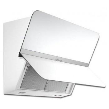 Falmec FLIPPER GREEN TECH Design Cappa parete cm 85  vetro bianco  motore 800 m3h