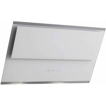 Falmec VERSO Design Cappa parete cm 55  vetro bianco  motore 800 m3h