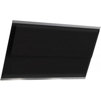 Falmec VERSO Design Cappa parete cm 55  vetro nero  motore 800 m3h