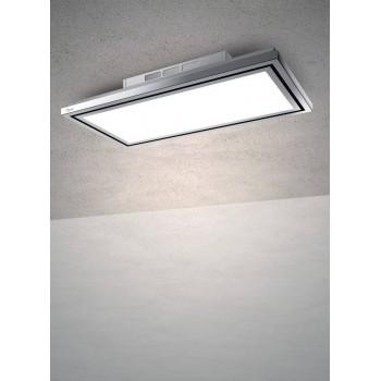 Baraldi cappa da soffitto Flexia free 90 cm Bianca 1FLEFR090STW90 EAN 8054382480686