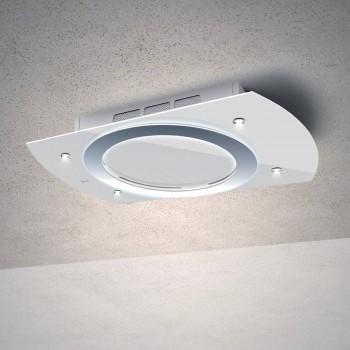 Baraldi cappa da soffitto Nima free 90 cm Bianca 01NIMFR090STW90 EAN 8054382481126