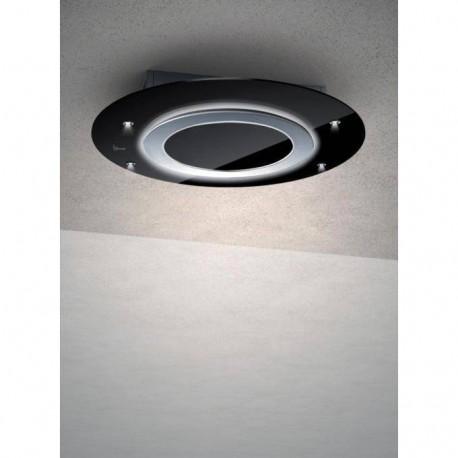 Baraldi cappa da soffitto Comet free 90 cm Nera 01CMTFR090STB90 EAN 8054382481157