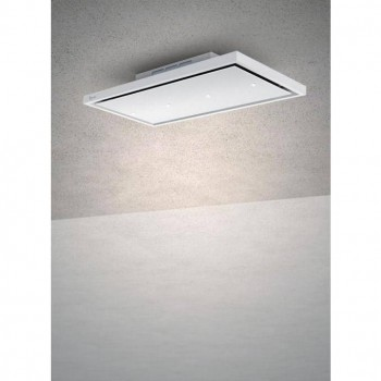 Baraldi cappa da soffitto GEA free 120 cm Bianca 01GEAFFR120STW90 EAN 8054382480716