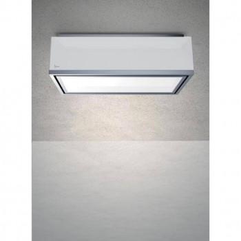 Baraldi cappa da soffitto Flexia a vista 120 cm Bianca 01FLE120STW80 EAN 8054382480938