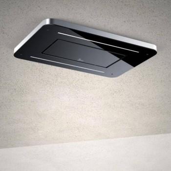Baraldi cappa da soffitto Stivia Soffitto 90 cm Nera 01STVSO090STB80 EAN 8054382480693