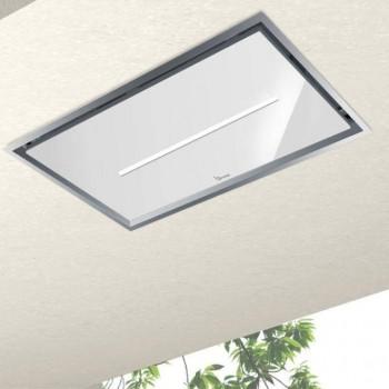 Baraldi cappa da soffitto Gea Flat 90 cm Inoxglass 01GEAF090SVWSL80 EAN 8054382481218