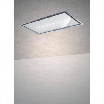 Baraldi cappa da soffitto Gea Flat 120 cm Inoxglass 01GEAF120SVWSL80 EAN 8054382481225