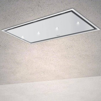 Baraldi cappa da soffitto Gea Flat 90 cm Bianca 01GEAFL090WHSP80 EAN 8054382481232