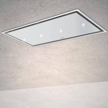 Baraldi cappa da soffitto Gea Flat 120 cm Bianca 01GEAFL120WHSP80 EAN 8054382481249