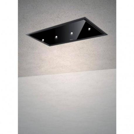 Baraldi cappa da soffitto Gea Flat 90 cm Nera 01GEAFL090BLSP80 EAN 8054382481256
