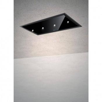 Baraldi cappa da soffitto Gea Flat 120 cm Nera 01GEAFL120BLSP80 EAN 8054382481263