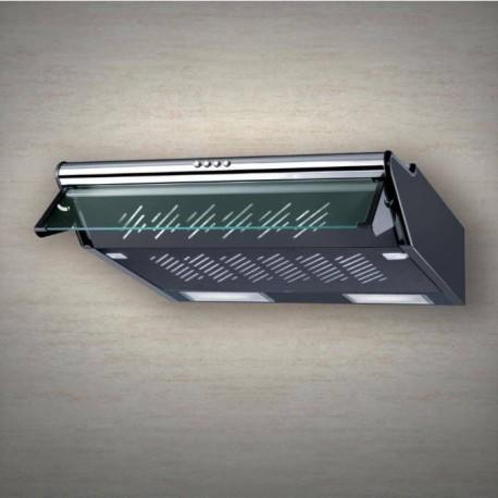 Baraldi cappa classica Thema 80 cm  Inoxnera 01THE5080STFC EAN 8054382481621