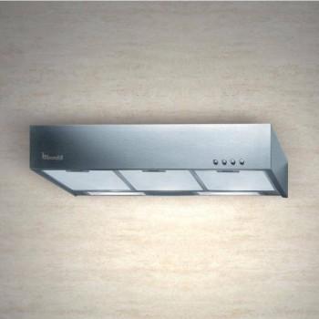 Baraldi cappa classica Quadra 90 cm Inox 01QUA090STFC EAN 8054382481676