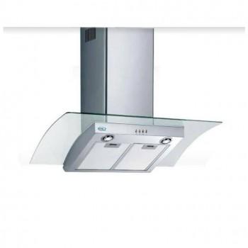 Ecoair by Baraldi cappa a parete Laser 90 cm Inoxvetro EA211 EAN 8054382480709