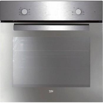 Beko BIC 21002 M Basic Forno statico cm 60  specchiato 3 funzioni di cottura  inox