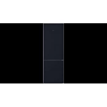 Neff N 70 Frigo-congelatore combinato da libero posizionamento 203 x 70 cm nero KG7493BD0