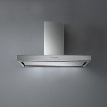 Falmec PLANE TOP Design Cappa parete cm 120 - acciaio inox motore 800 m3/h