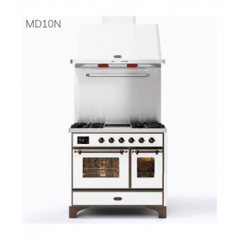 Ilve Cucina da accosto MD10N Majestic Cucina da accosto cm 100 configurabile  inox o colorato