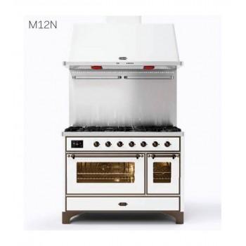 Ilve Cucina da accosto M12N Majestic Cucina da accosto cm 120 configurabile  inox o colorato