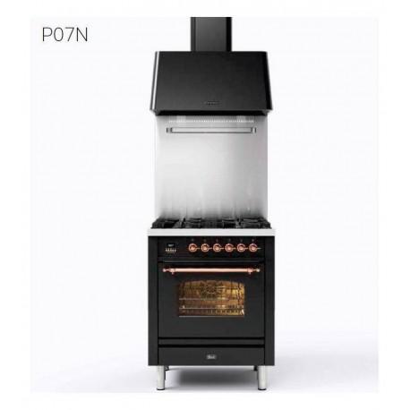 Ilve Cucina da accosto P07N Nostalgie Cucina da accosto cm 70 configurabile  inox o colorato