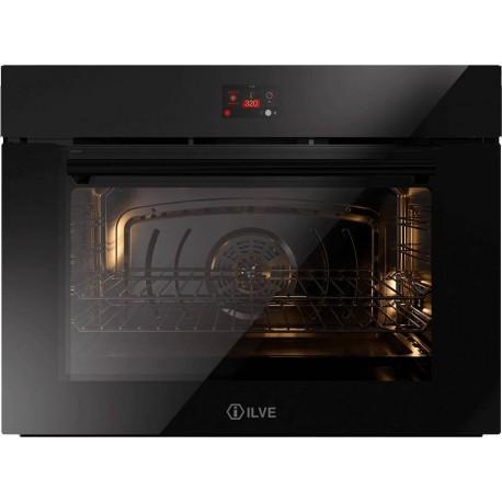 Ilve OV80STC Professional Plus Forno elettrico multifunzione cm 80  cristallo nero