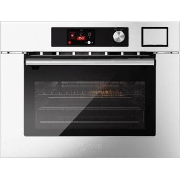 Ilve 645SLHSW Professional Plus Forno combinato con microonde cm 60 h 45  inox