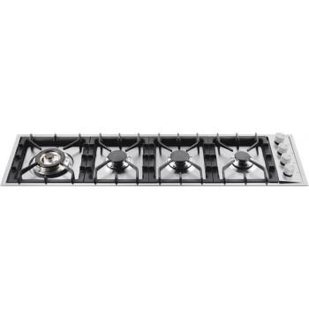Ilve HP1230 Professional Plus Piano cottura a gas cm 115  inox
