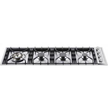 Ilve HPT1230 Professional Plus Piano cottura a gas filotop cm 115  inox