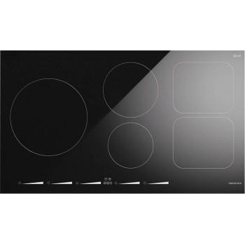Ilve KHVI90 Professional Plus Piano cottura a induzione cm 90  vetroceramica nero