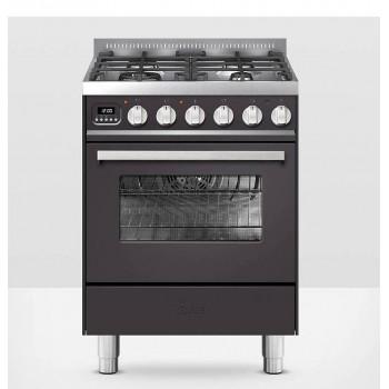 Ilve Cucina da accosto L06WMP Pro Line Cucina da accosto 5 fuochi cm 60 configurabile  inox o colorato