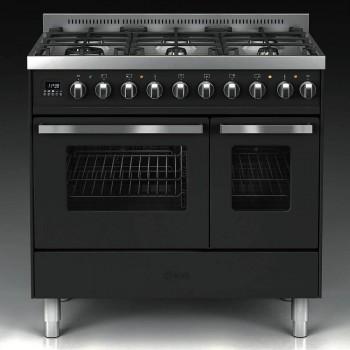 Ilve Cucina da accosto LD09 Pro Line Cucina da accosto cm 90 configurabile  inox o colorato