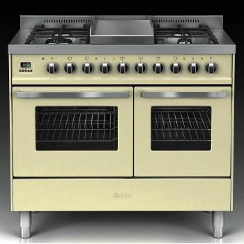 Ilve Cucina da accosto LD10 Pro Line Cucina da accosto cm 100 configurabile  inox o colorato